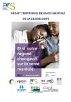 Projet territorial de santé mentale. Guadeloupe, Saint-Martin, Saint-Barthélemy